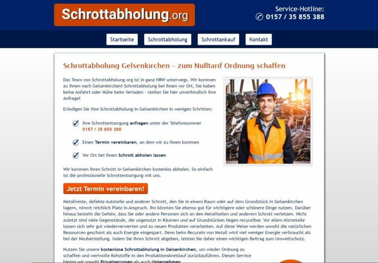 Mit Schrottabholung in Gelsenkirchen Mit dem Recycling zuführen