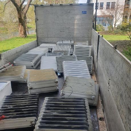 Schrotthändler in Gelsenkirchen holt Altmetalle vor Ort ab