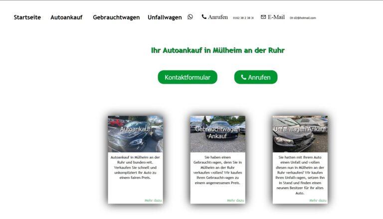 Autoankauf aus dem Ruhrgebiet für ganz Deutschland