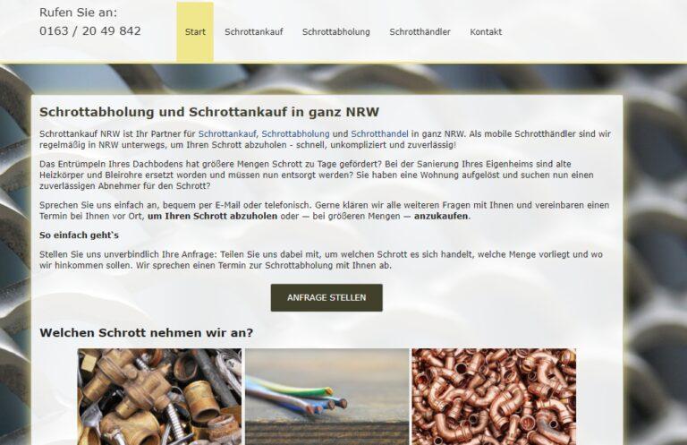 Schrotthandel Nordrhein-Westfalen