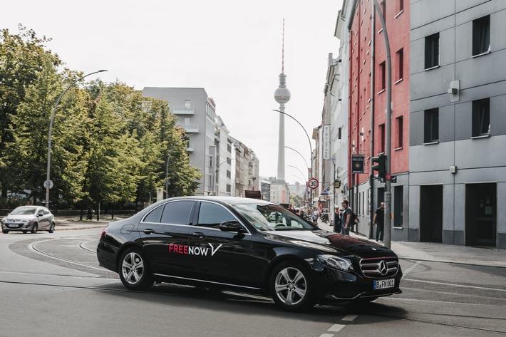 FREE NOW spendiert Mobilitäts-Guthaben für Berlin