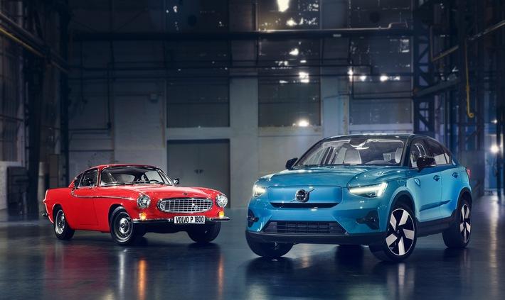 Volvo C40 Recharge: Mit Gestaltungselementen einer Design-Ikone auf dem Weg in die Zukunft