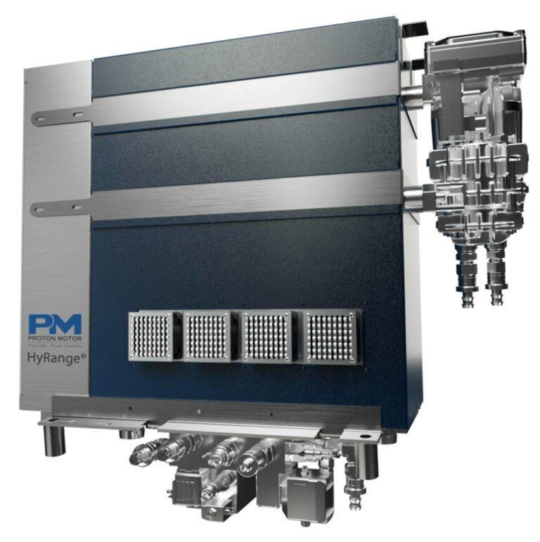 Emissionsfreie Wasserstoff-Müllfahrzeuge mit Proton Motor-Technologie im Einsatz