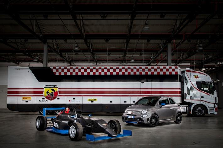 Von der Formel 4 auf die Straße: / Der neue Abarth F595 – Adrenalin pur