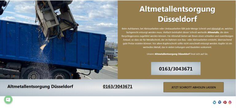 Schrottankauf Bottrop für private und gewerbliche Kunden in Bottrop und Umgebung