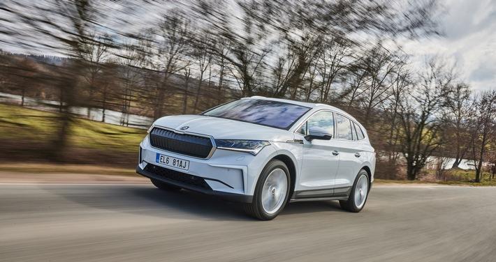 Höchste Sicherheit: Elektrofahrzeuge von ŠKODA genauso sicher wie Modelle mit Verbrennungsmotoren
