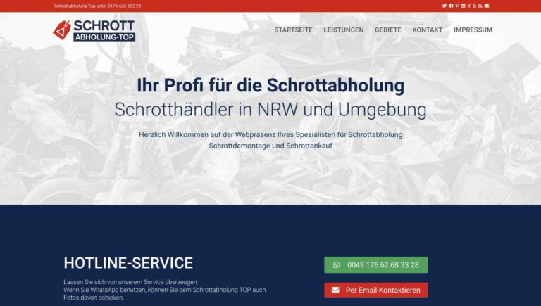 Schrotthändler in Wuppertal gesucht? Gefunden!