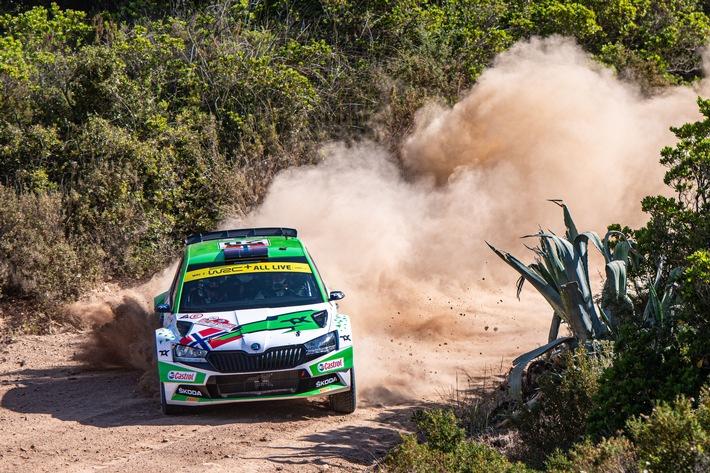 Rallye Estland: ŠKODA Fahrer Andreas Mikkelsen will Tabellenführung in WRC2-Kategorie festigen