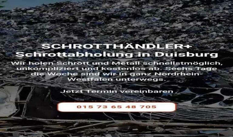 Die Schrottabholung Duisburg steht für Kompetenz und ein unkompliziertes Handling