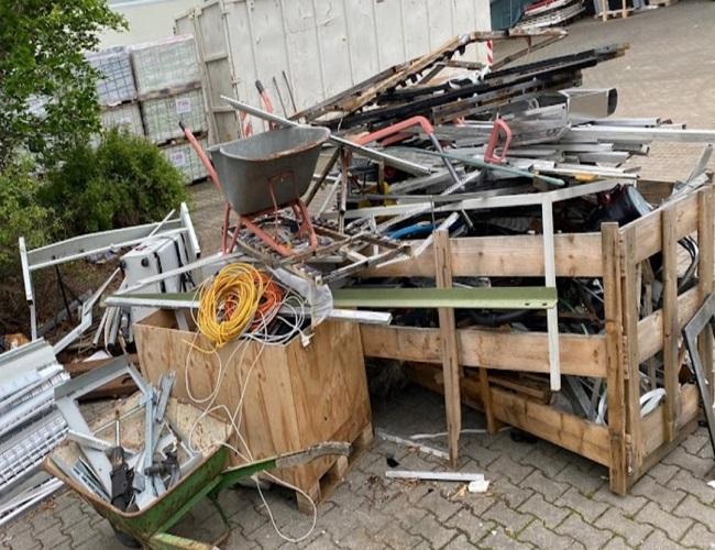 mobiler Schrotthändler Oberhausen sind wir täglich im Ruhrgebiet Altmetall-Entsorgung