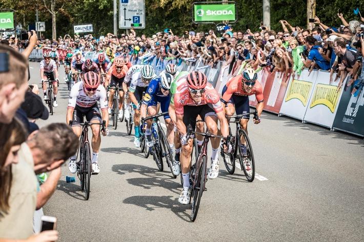 ŠKODA mobilisiert das Radsport-Festival Deutschland Tour als offizieller Partner