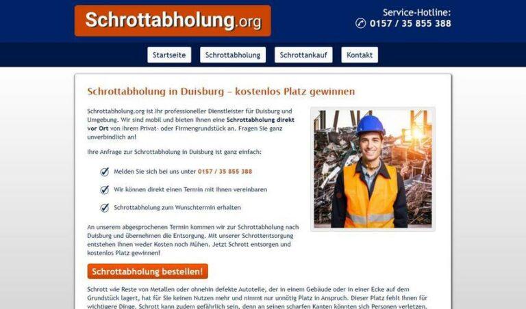 Mobile Schrotthändler in Duisburg ihr professioneller Dienstleister