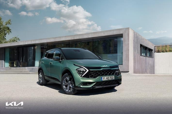 Der neue Kia Sportage: Wegweisender SUV speziell für Europa
