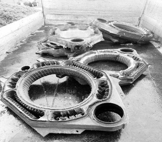 Schrotthändler in Iserlohn: Demontage von Maschinen und Heizkörpern