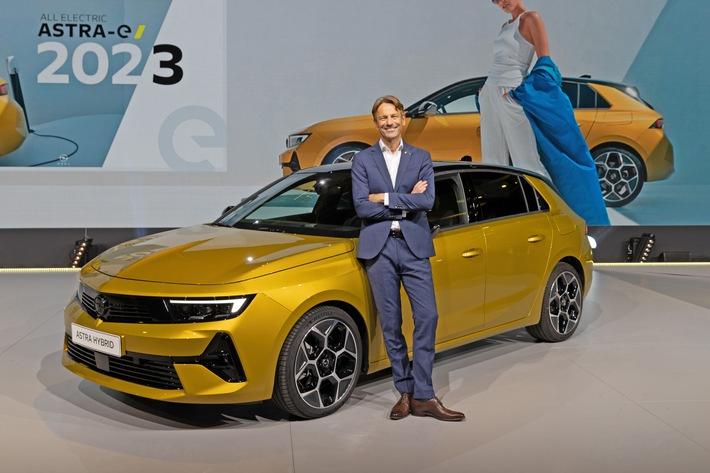 Neuer Opel Astra feiert Weltpremiere in Rüsselsheim