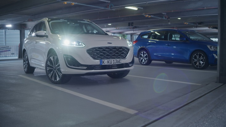 Automatisierter Parkservice im Parkhaus: Ford präsentiert auf der IAA Mobility den jüngsten Stand der Entwicklung