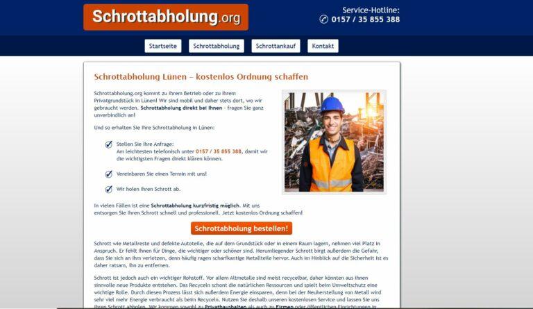 Schrotthändler in Lünen – fachgerechte und effektive Schrottentsorgung