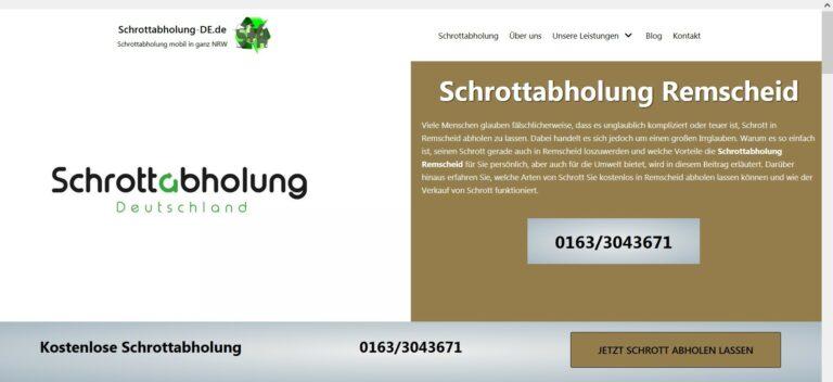Schrottabholung Münster – Schrott und Altmetall abholen lassen ordentliche Entsorgung Münster