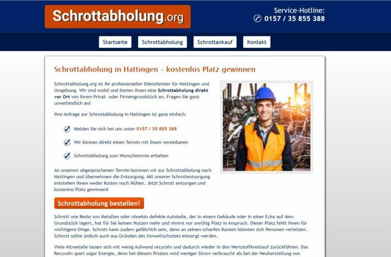 Schrotthändler in Hattingen: Altmetall einfach abholen und entsorgen