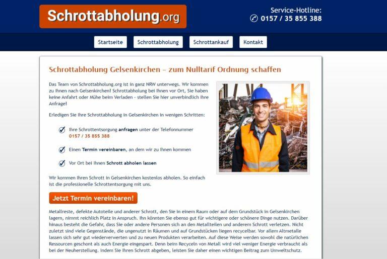 Schrottabholung in Gelsenkirchen: Sicher entsorgen