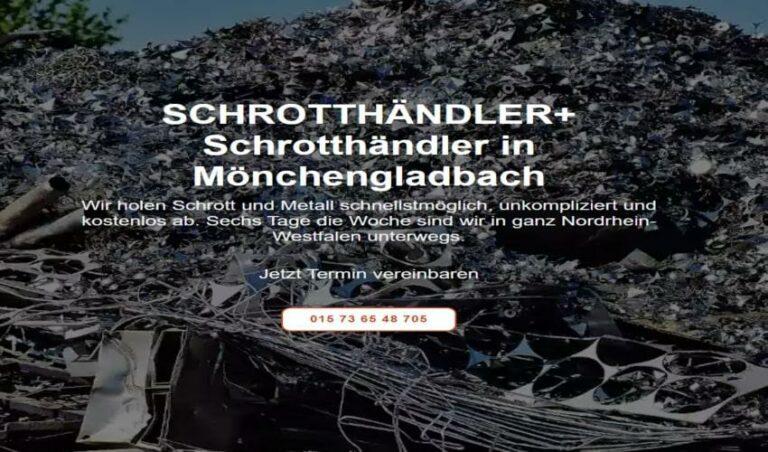 Wir kaufen Ihren Schrott durch Schrotthändler in Mönchengladbach
